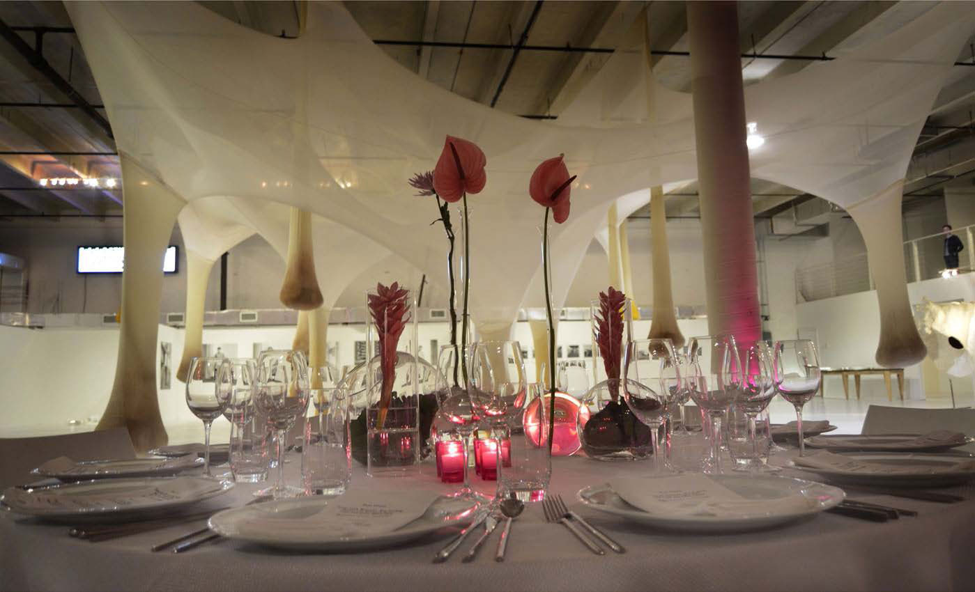 Art Basel Dinner, the Marguilles Collection at the Warehouse