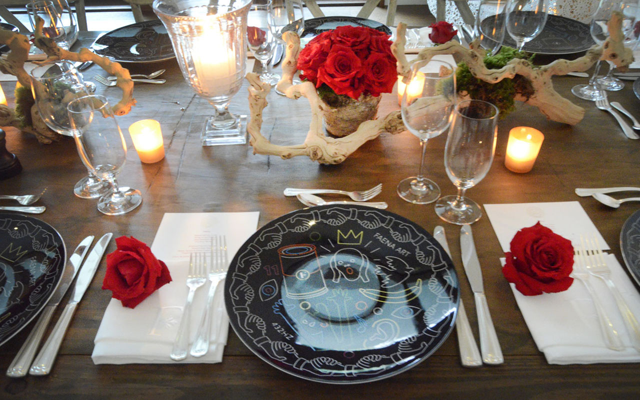 Faena Rose Dinner, Private Residence