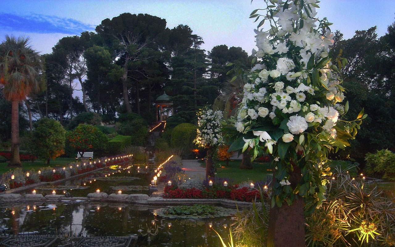 Summer Wedding, Villa Ephrussi de Rothschild