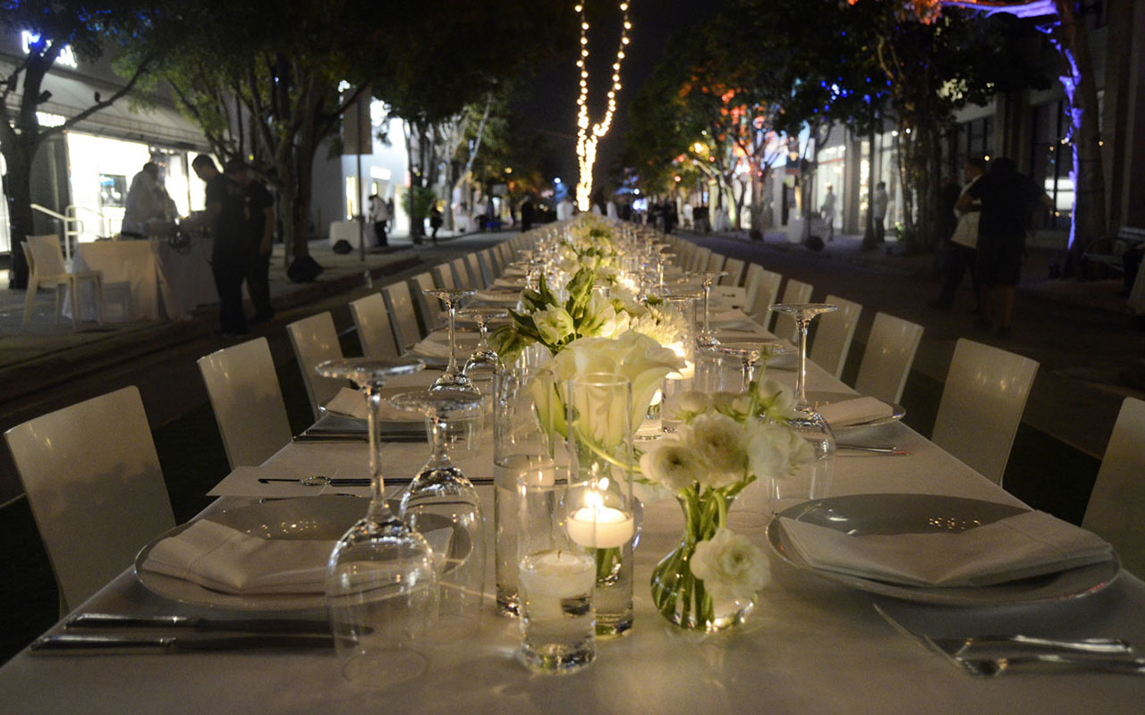 Design Visionary Dinner Honoring Peter Marino, Art Basel 2014, Design District